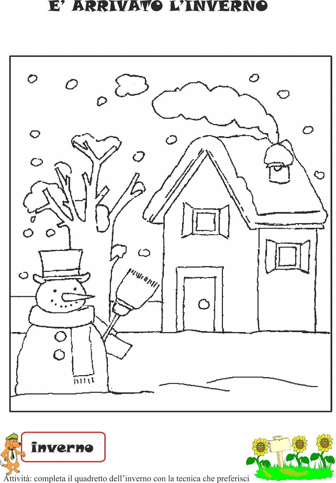 Ben noto A Scuola con Poldo: Schede didattiche inverno N°2 ZH09