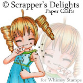 Scrappers delight at whimsy stamps