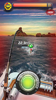 Screenshots of the Ace fishing No.1: Wild catch for Android tablet, phone.