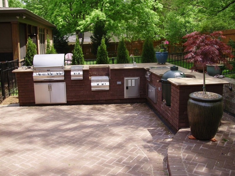 Vores mini: ude køkken / outdoor kitchen
