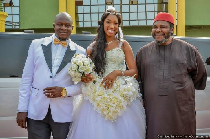 pete edochie niece wedding