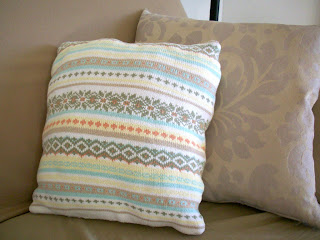 diy knit pillow tutorial
