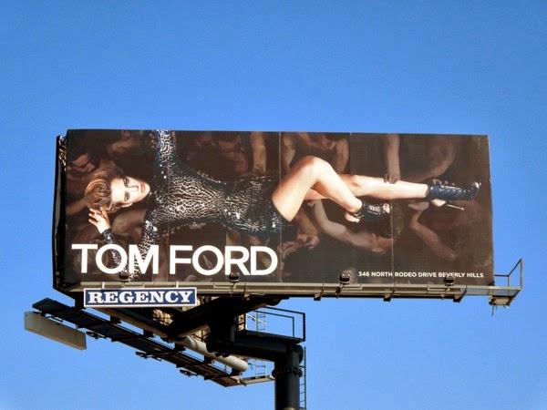 Tom Ford Spring 2014 billboard