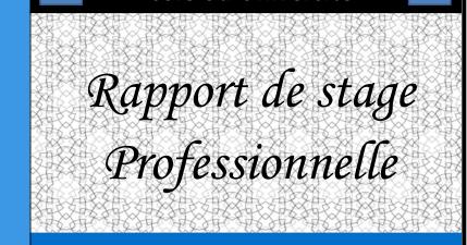 Docx page de garde professionnelle pour rapport de stage - Page de garde rapport de stage open office ...