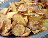 Chips de Mandioca (vegana)