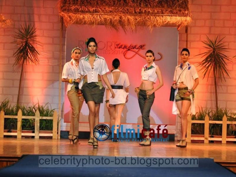 Bangladeshi+Somani%2527s+Resort+Ramp++Silhouettes+2014+Hot+Ramp+Girls+Fashion+Show+Photos+006