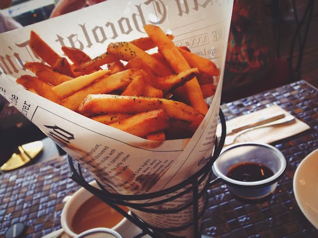Au Chocolat Truffle Fries