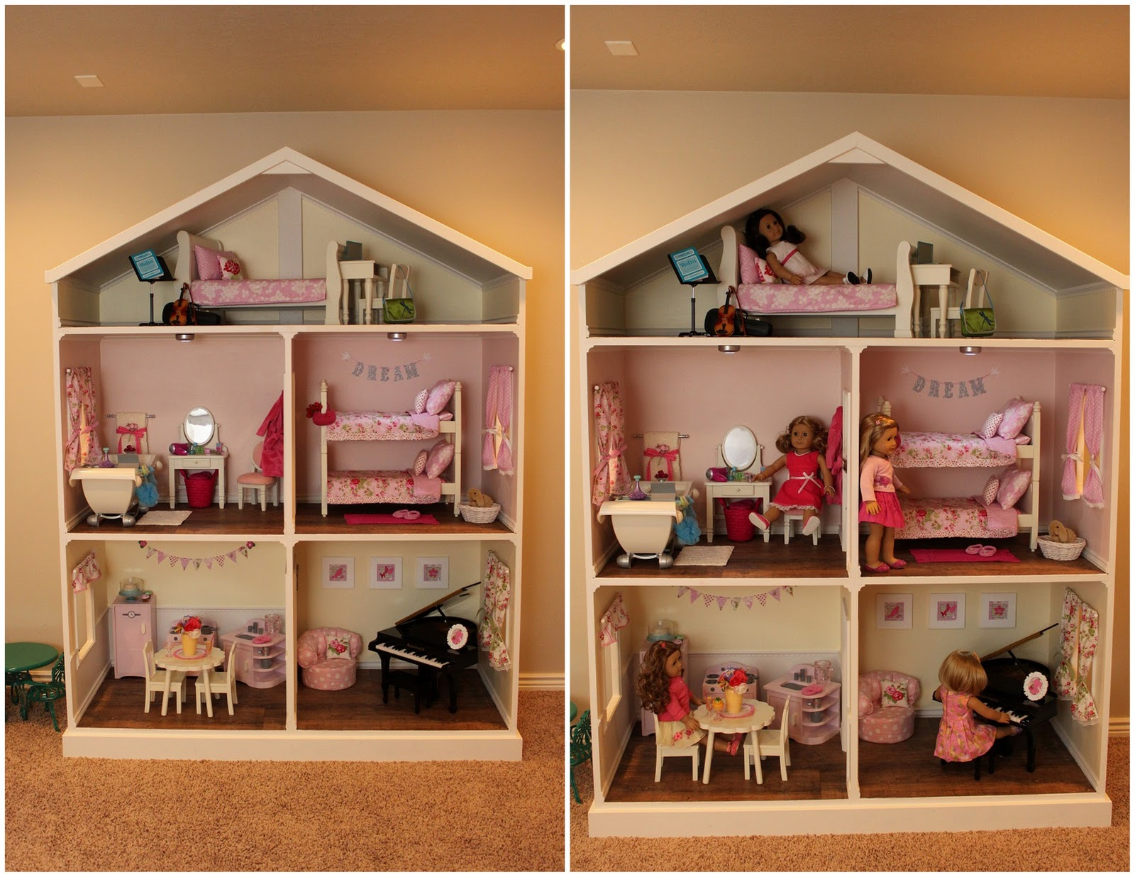 Kent and denise conder family american girl the for Build as you go house plans