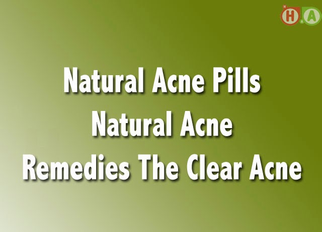 Natural Acne Pills Natural Acne