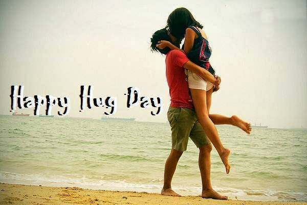 Happy hug day images 2014