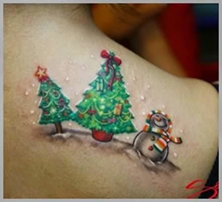 ♥ ♫ ♥ Craziest Christmas Tattoos ♥ ♫ ♥
