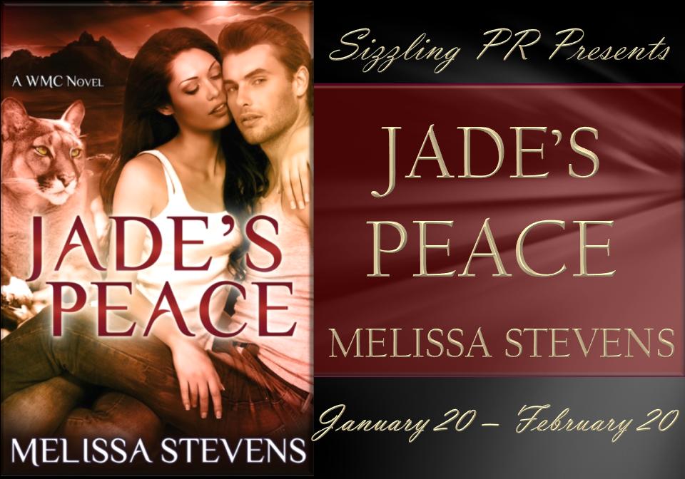 Blog Tour: Author Q&A – Jade's Peace by Melissa Stevens