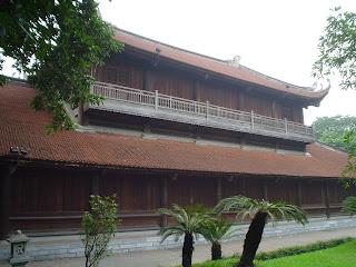 Templo de la literatura, Hanoi, Vietnam. Van Mieu (Văn Miếu)