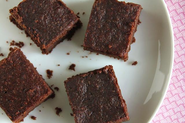 low-fructose fudge brownies, dextrose, gluten-free, almond flour, white rice flour