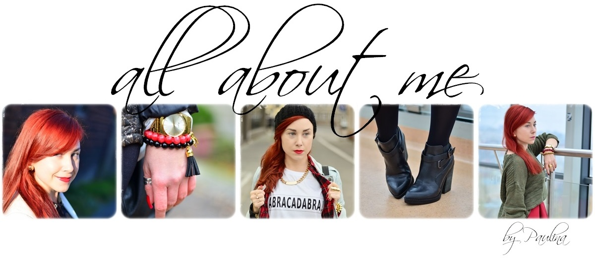 All about me - fashion, lifestyle, beauty