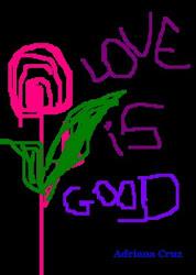 O amor é bom...
