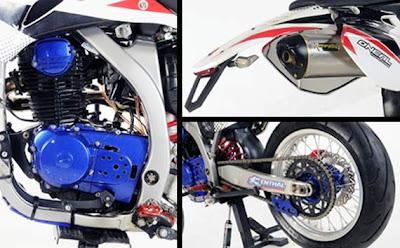 mesin megapro trail | Honda Megapro modifikasi | honda megapro trail | honda megapro supermoto | honda megapro balap