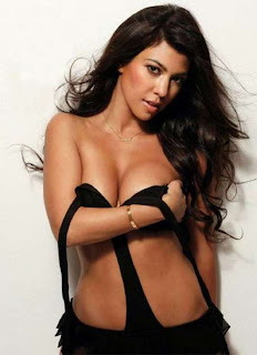 Kourtney Kardashian Maxim Hot Photo