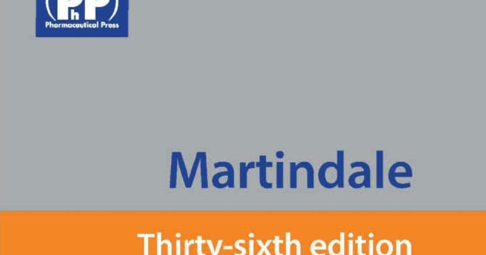 martindale the complete drug reference 39th edition pdf