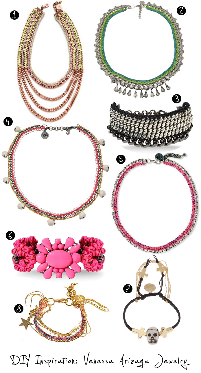 DIY INSPIRATION: Venessa Arizaga jewelry