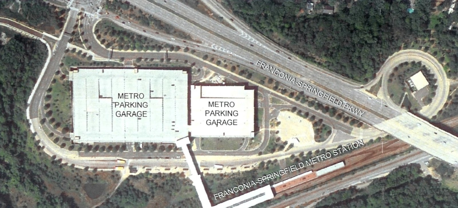 Bike Parking Facility Planned At Franconia Springfield Metro Station