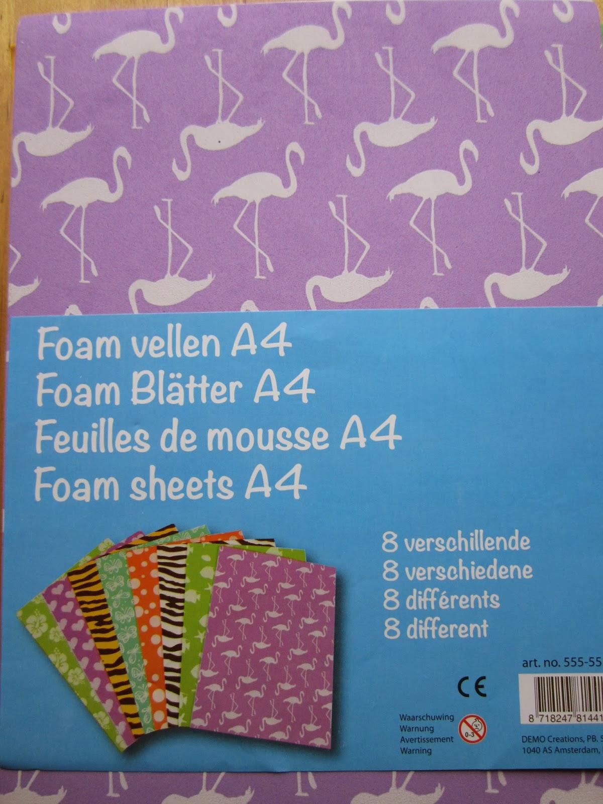 release foam vellen