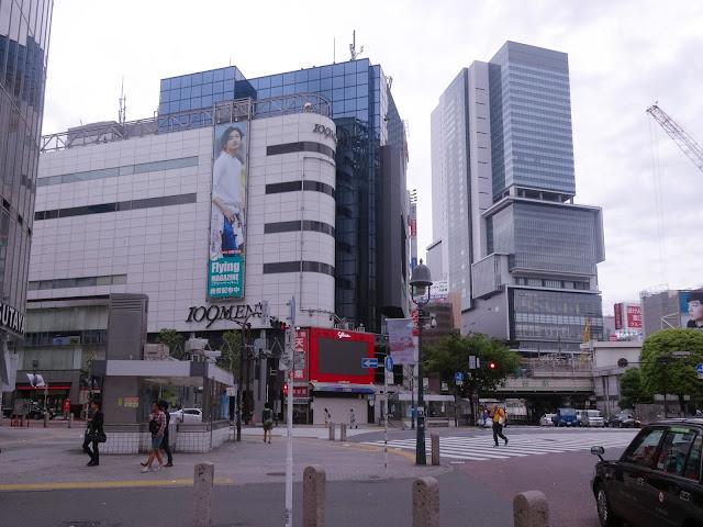 渋谷駅前スクランブル交差点,109-2,渋谷ヒカリエ〈著作権フリー画像〉