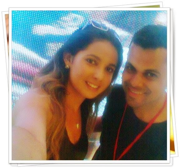 Selfie Com a modelo Top Gilianny Alves