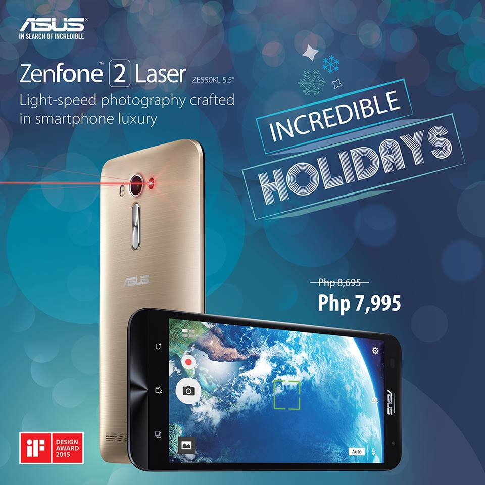 ASUS Zenfone 2 Laser 5.5 Price Drop