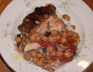 Savory chicken in the Moroccan style with an exciting taste of North Africa.