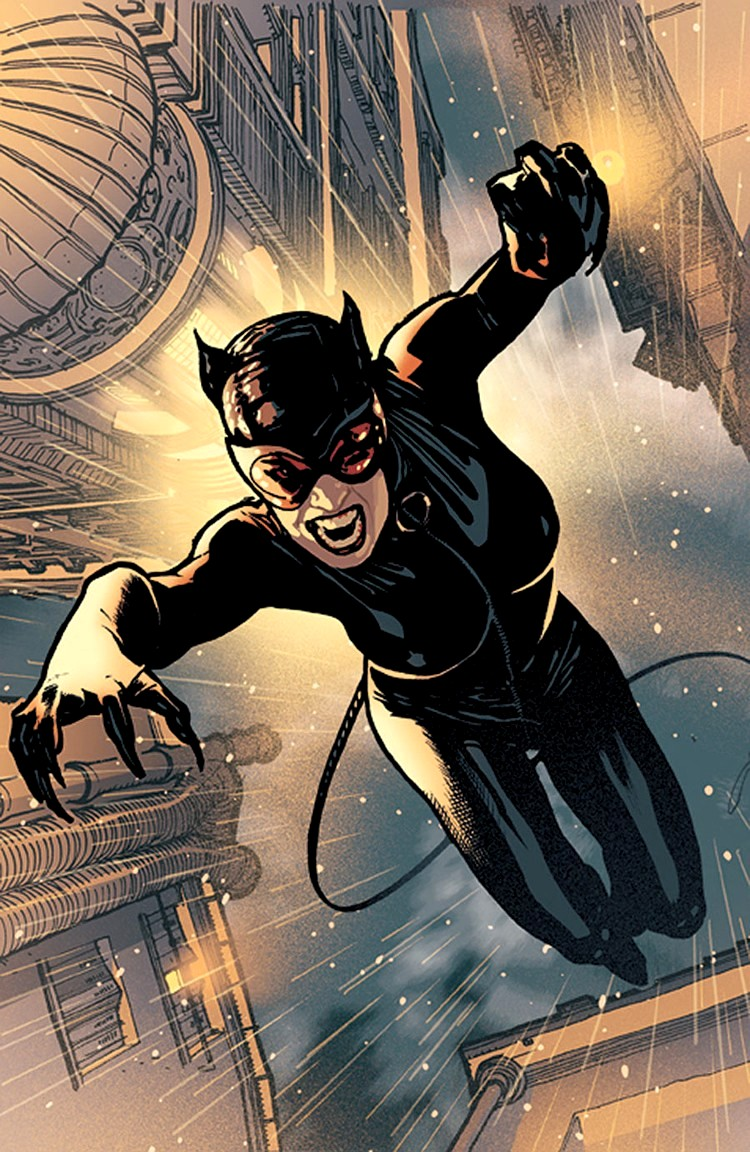 Catwoman Cartoon Pictures