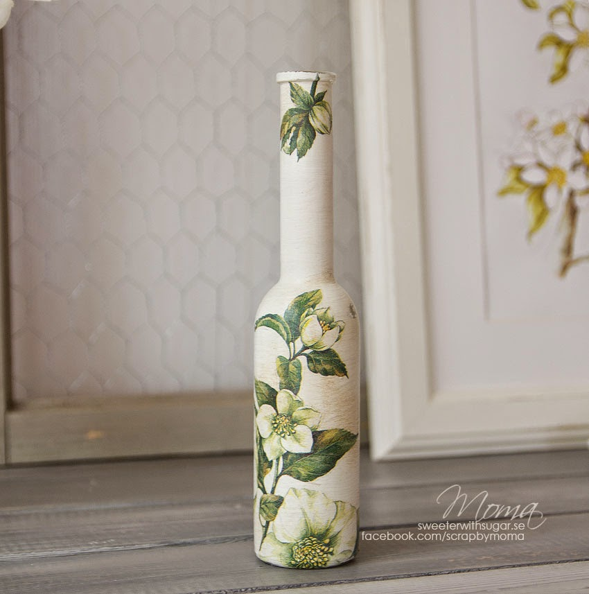 Annie Sloan Chalk Paint, dark wax, decopage,