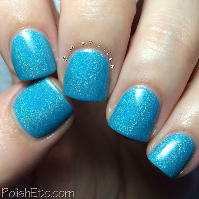 Cirque Colors - Nordstrom exclusive Poolside Collection - McPolish - Cabana Capri