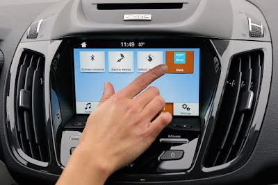 Smart Cars Meet Smart Homes with Ford SYNC
