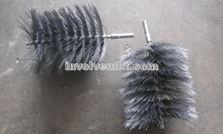 OEM twisted-in wire brush, wire brush Singapore