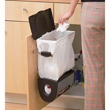 Mundane entertainment plastic or plastic for Trash can ideas for small kitchen