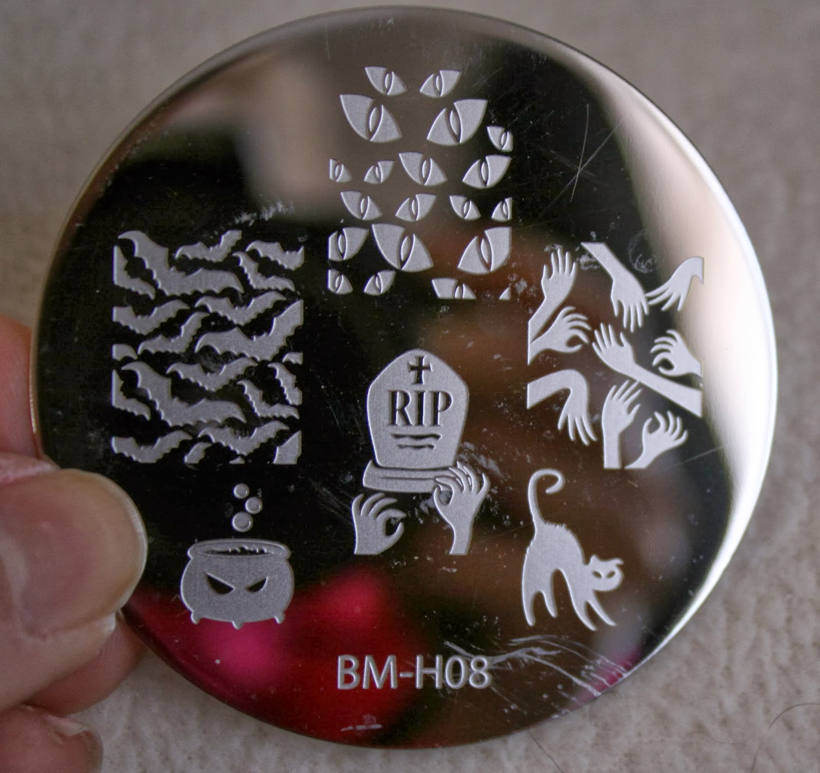 bundle monster nail stamping plates set collection holiday 2013 nails art stamp konad bm-h08