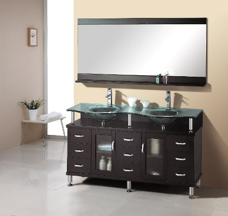 Muebles modernos para el ba o con espejos dise os de ba os for Espejos banos modernos