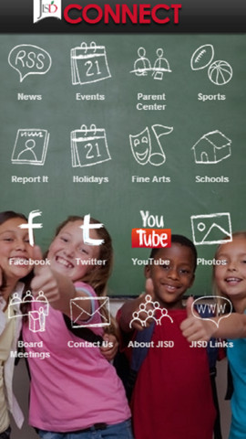 Judson ISD Connect! home screen