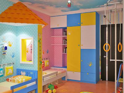 decoração de quarto para menino e menina