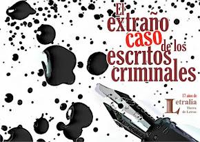 El extraño caso de los escritos criminales
