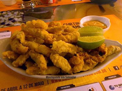 Porto Caymmi Lounge Bar: Iscas de Filé de Peixe