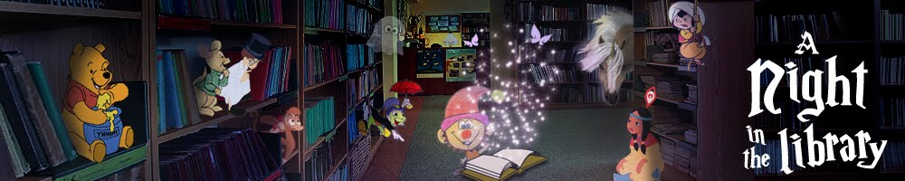 A night in the library