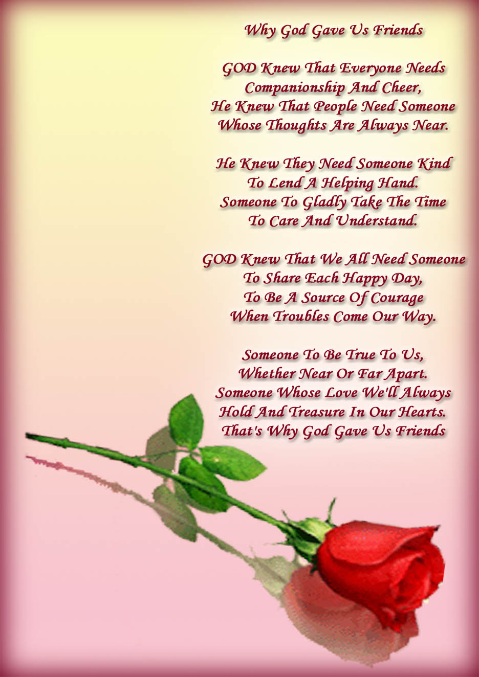 I Love My Family And Friends Poems Yes they aren t my family