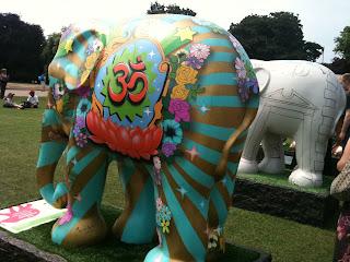 om shanti elephant