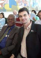 Pedro Kitoko e Alcemi Barros