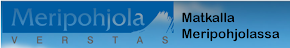 Meripohjolan matkailun verkosto