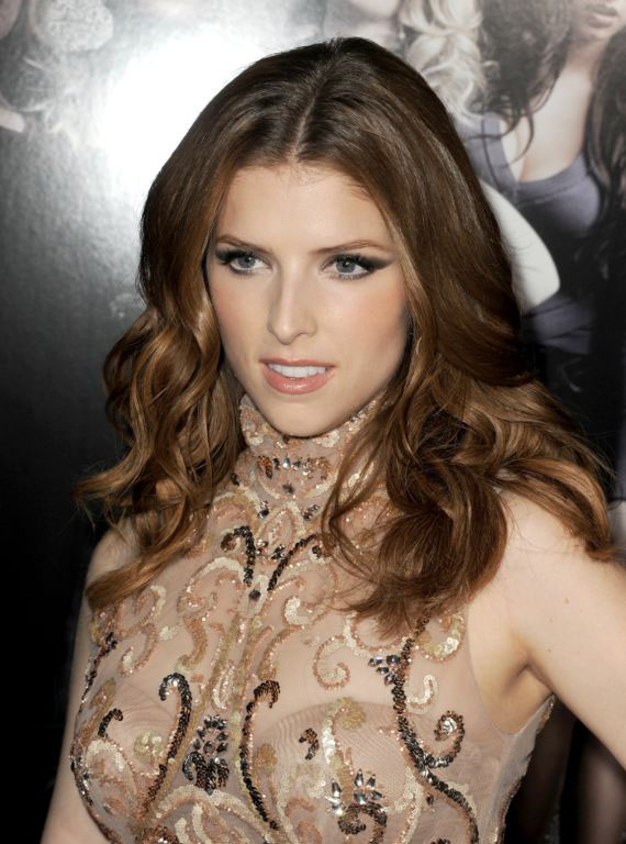 Hollywood Actress Anna Kendrick In Pitch Perfect Premiere 2013