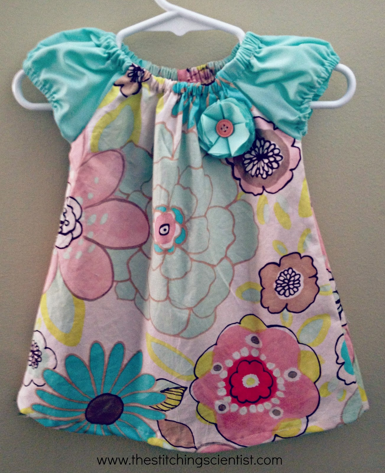 Simple Girls Dress Pattern Interesting Decorating