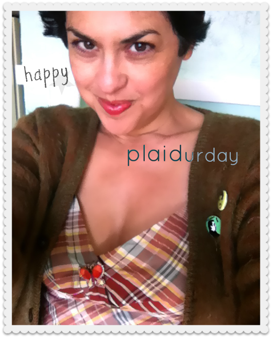Happy Plaidurday
